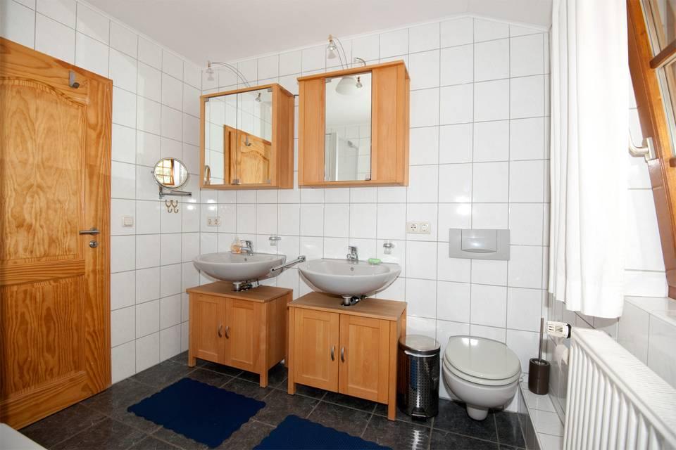 Reiterhof Eilfort - Ankum - Fotos Badezimmer Von Oben